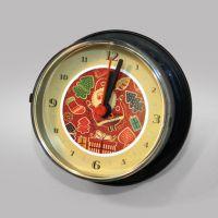 Часы в виде консервной банки на магните