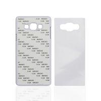 Чехол для Samsung A5, пластик белый со вставкой стандарт