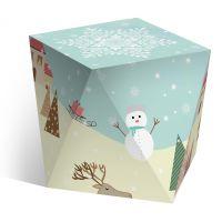 Коробка под водяной шар «Новогодняя анимация»