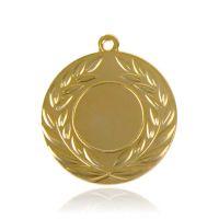 Медаль HB078 золото D50мм, D вкладыша 25мм