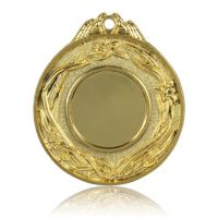Медаль HB088 золото D50мм, D вкладыша 25мм