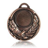 Медаль HB105 бронза D50мм, D вкладыша 40мм