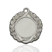 Медаль корпусная MK142b серебро D медали 43мм, D вкладыша 25мм