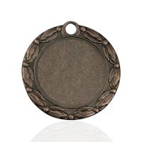 Медаль корпусная MK156c бронза D медали 70мм, D вкладыша 50мм