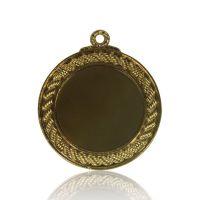 Медаль Zj-M788 золото D65мм, D вкладыша 45мм, задний вкладыш D45мм