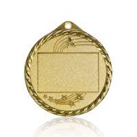 Медаль Zj-M818 золото D65мм, D вкладыша 45мм, задний вкладыш 30х42мм
