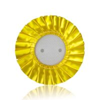 Розетка для значков D56мм желтая