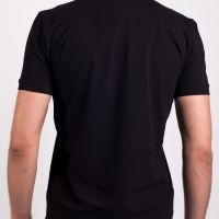 Рубашка поло «Premium», мужская, черная, хлопок, XS (44)