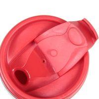 Термостакан пластик красный под полиграф вставку 350 мл